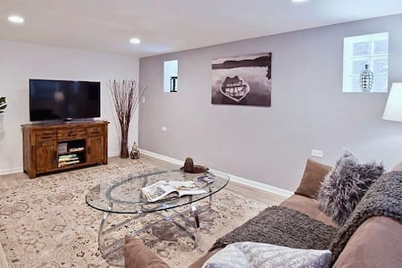 ⚡️NEW! Modern & Spacious, 10min to ORD, 20 to DT❤️