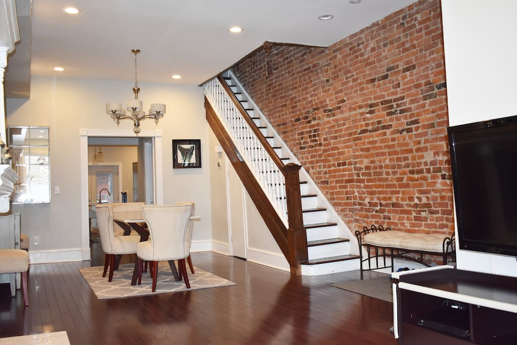 Dining room and stairway to 2nd floor