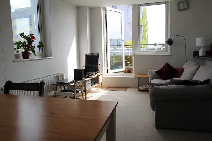 Room in fab flat! Ideal for travel to London City