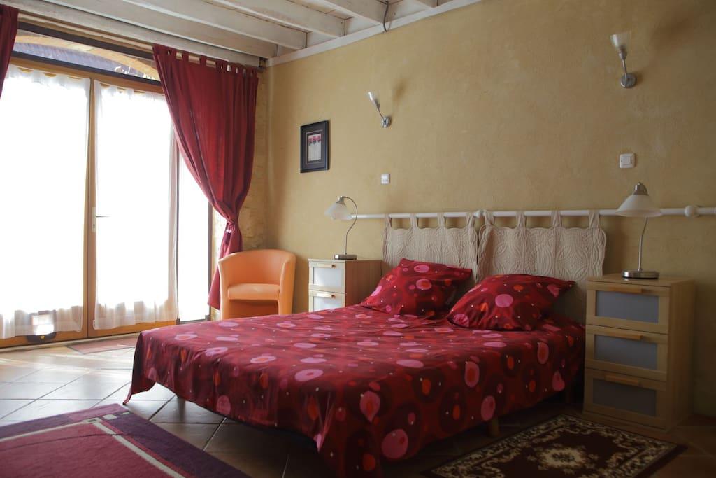 chambre 3 - lit double ou lits jumeaux au choix