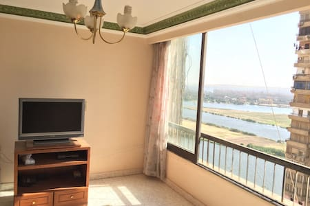 Furnished nile side view apartment - Cairo