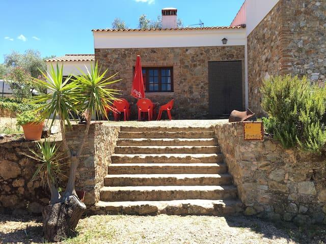 Finca La Portilla Casa Rural Las Peñas en Aroche