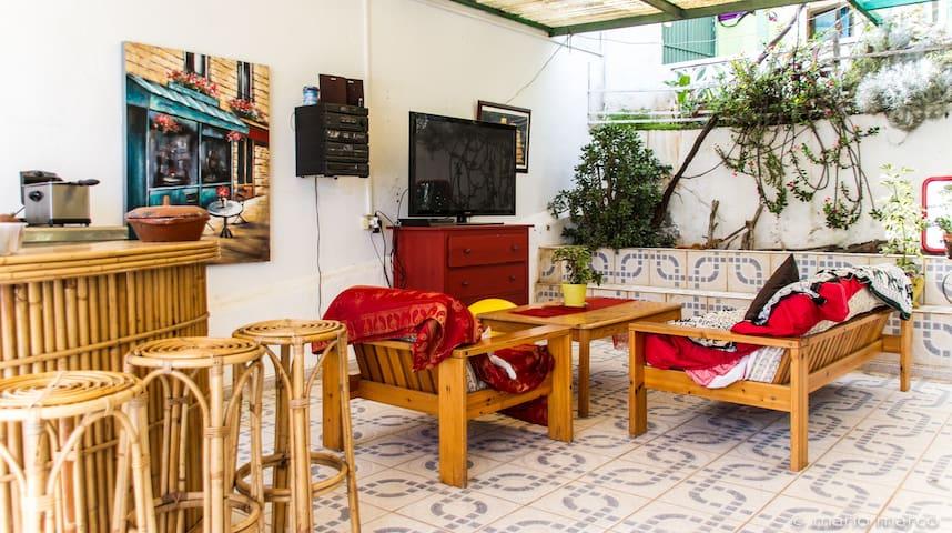 Habitación independiente con desayuno Canarias - Arucas - Гестхаус