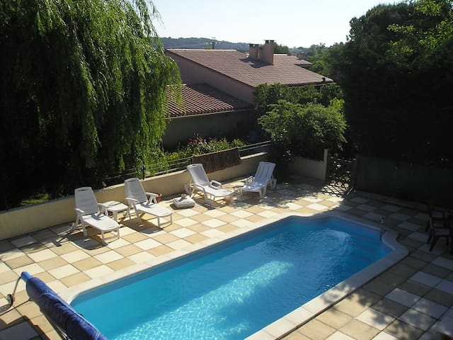 Le Lili 2 bed cottage+ private pool,nr Carcassonne - Palaja - Hus