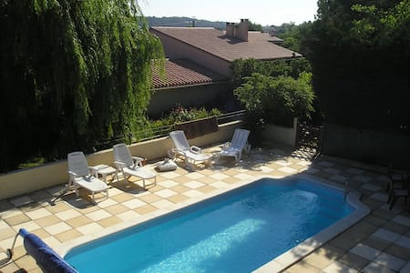 Le Lili 2 bed cottage+ private pool,nr Carcassonne - Palaja - Huis