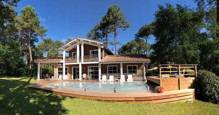 Beach & Lake villa on Biscarosse Golf / Bordeaux