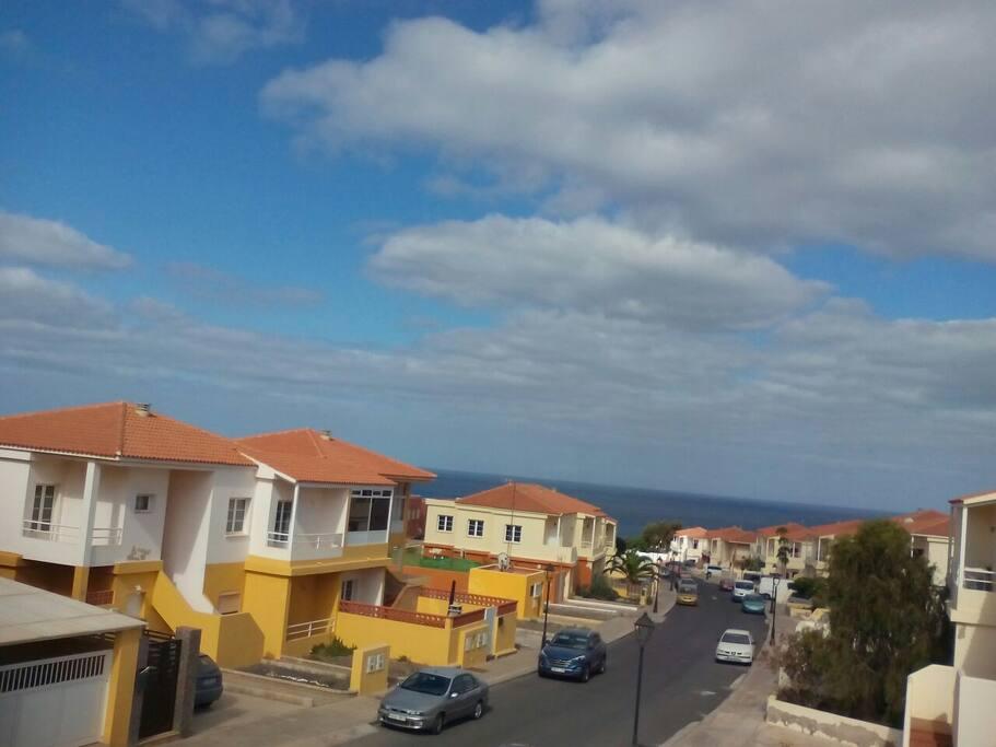 zona residencial de Playa Blanca donde se encuentra ubicada la casa