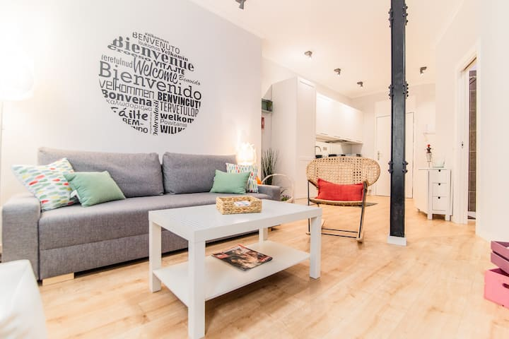 MODERN AND COZY APARTMENT | MADRID RIO | WIFI