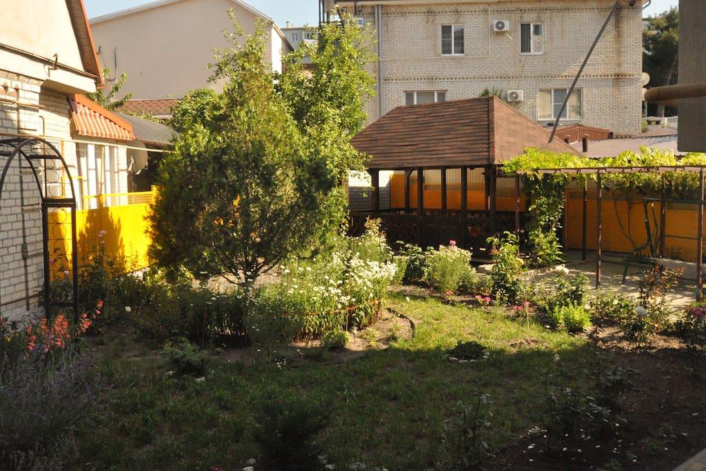 Закрытый внутренний двор