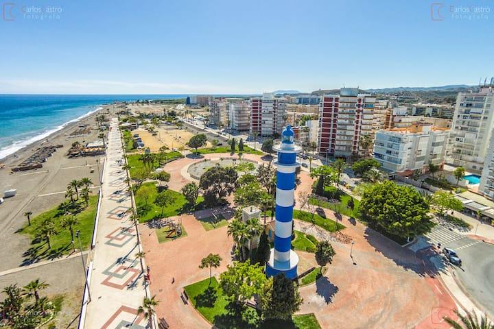 Piso en la playa / Gran terraza bbq - Torre del Mar - Apartment