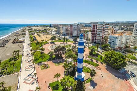 Piso en la playa / Gran terraza bbq - Torre del Mar - 公寓