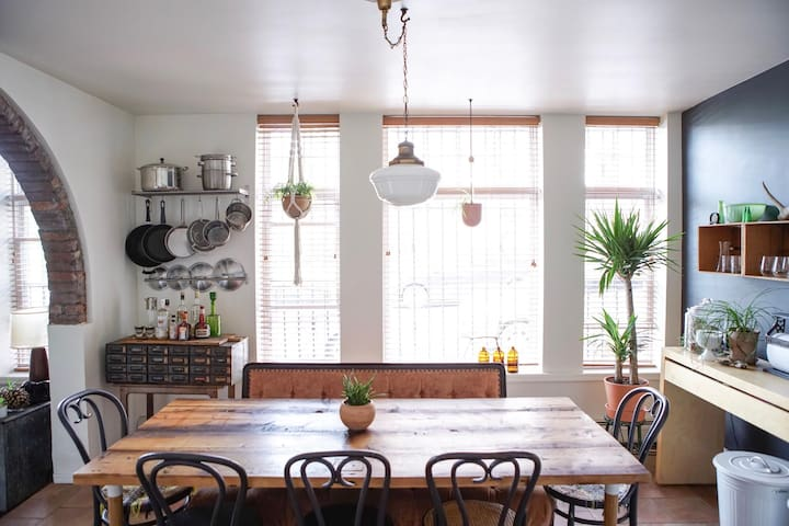 Bright, Welcoming Dining Area