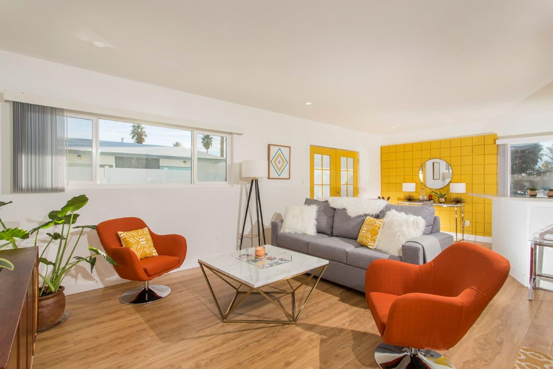 Professionally Designed Living Area