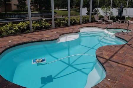 Linda's Master Suite/Pool, Luxury, Tarpon Springs