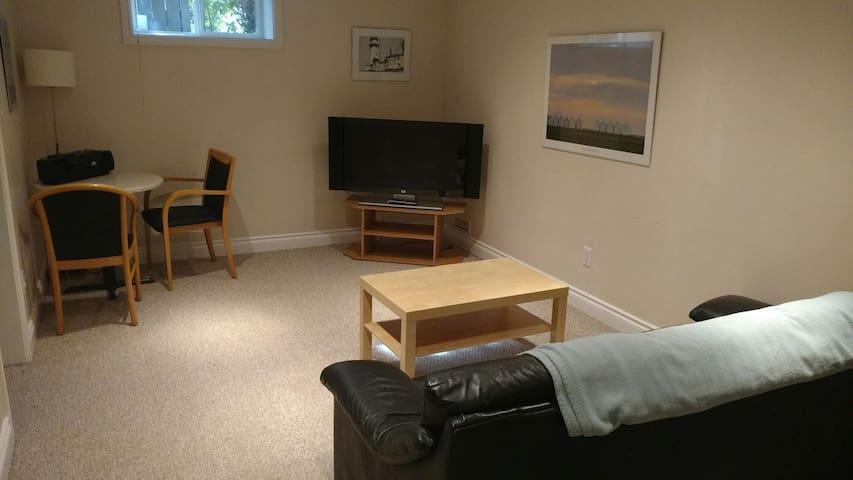 Pristine basement suite in west/central Edmonton.