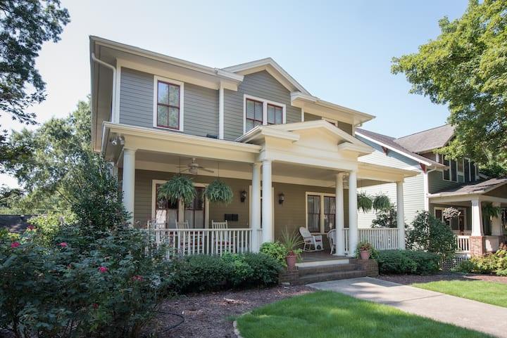 Downtown Raleigh Historic Neighborhood - 5 Suites!