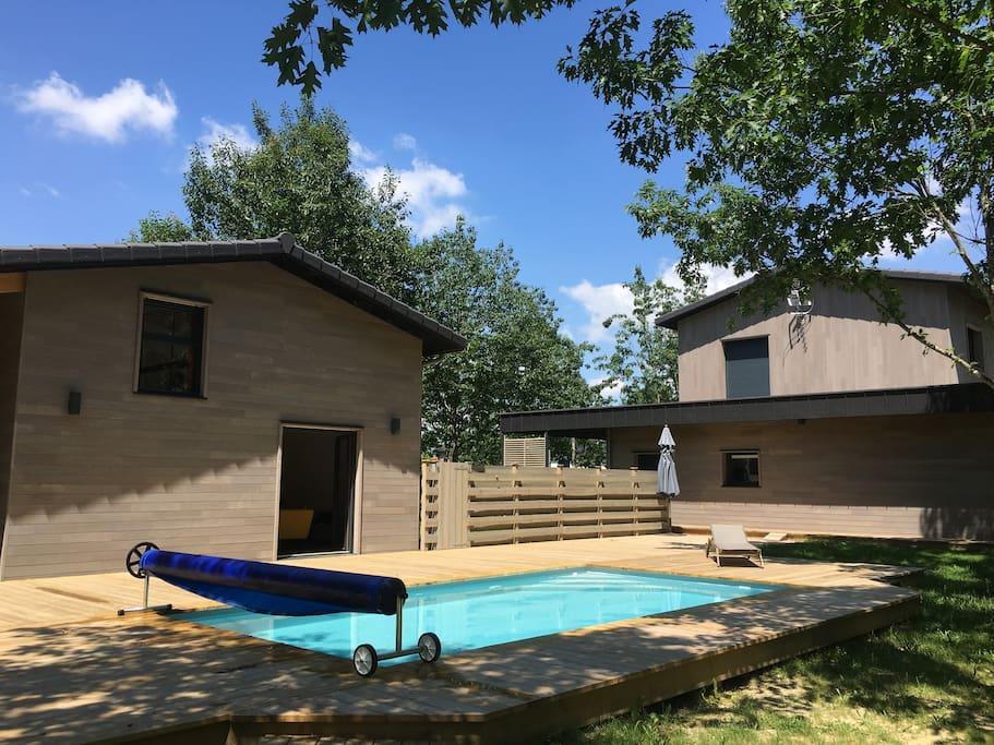 Le Loft et la piscine