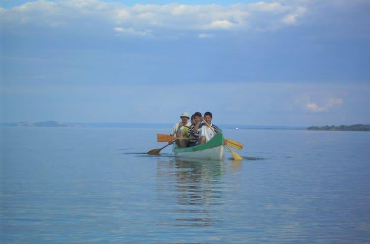 kajak tour at Lake Balaton, come with us