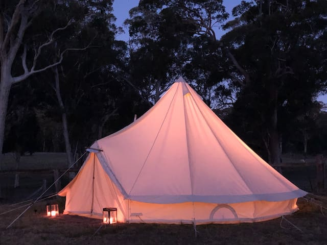 Winter Romance - Glamping in the Blue Mountains