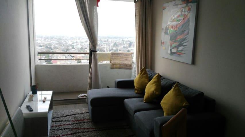 Acogedor departamento,buena onda y  simpatía ;) - Santiago - Appartement