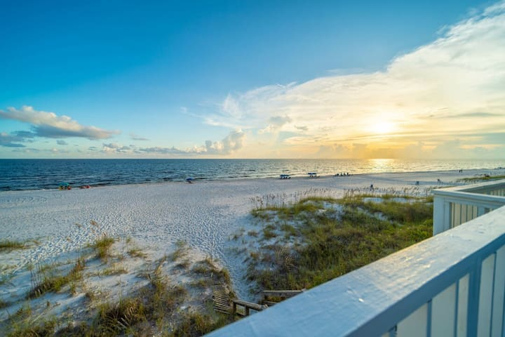 On the Beach ~ Inlet Beach ~ Gulf Front ~ Paradise Properties