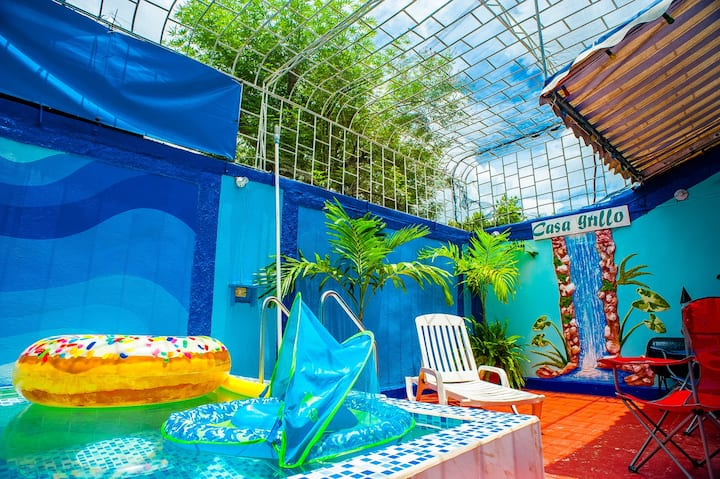 .*Grillo guest house with pool, Room 1*.