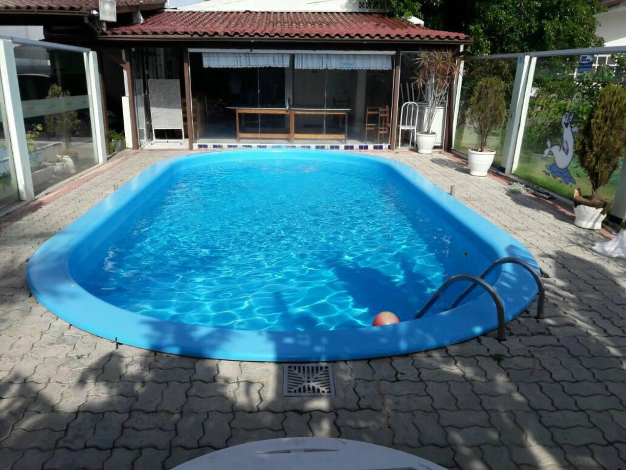 Uma piscina maravilhosa