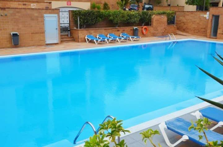 Esquinzo Apartment with Pool & Sea View