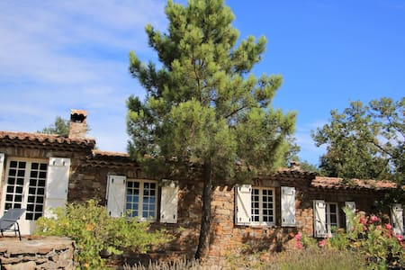 Villa les Messugues seaview and near St. Tropez - La Tour