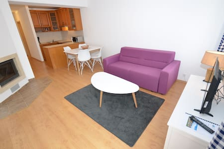 Modish Apartment with Terrace, Garden Furniture, Heating