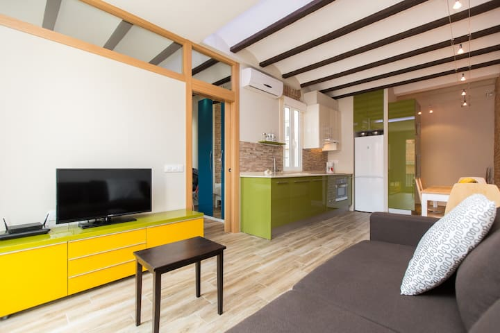 One bedroom apartment in Gracia district
