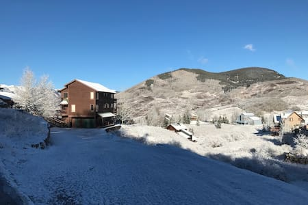 Pleasant Private Apartment With Amazing Views - 克雷斯特德比特(Crested Butte)