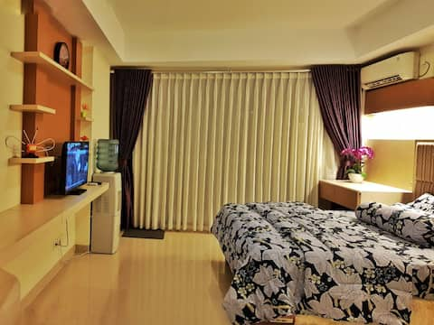 Studio #W208 Apartement beverly residences bandung