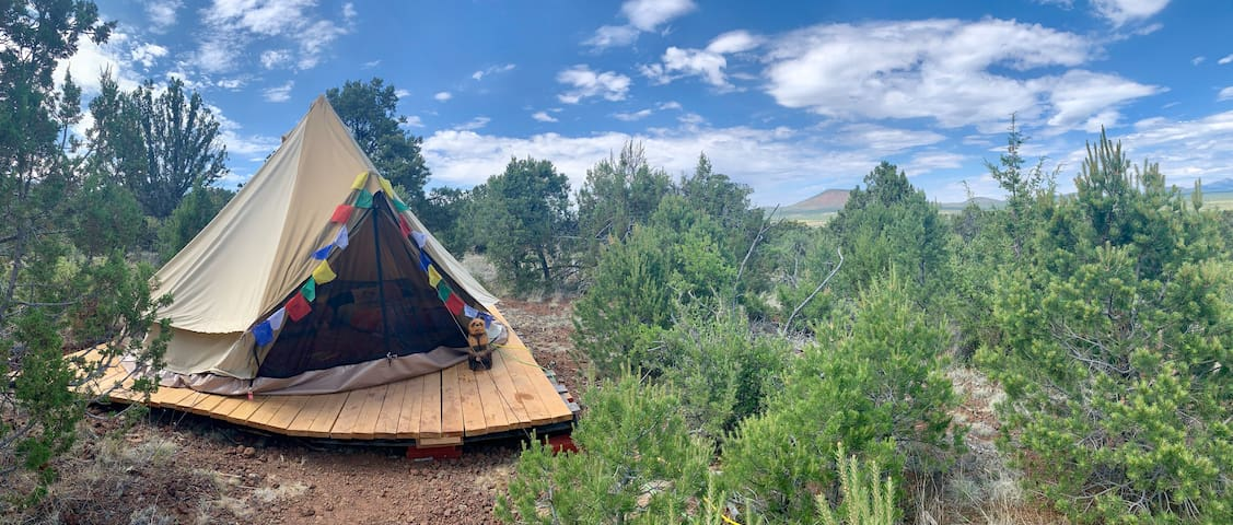 Grand Canyon Glamping Eco-Yurt for up to 4 (#1)