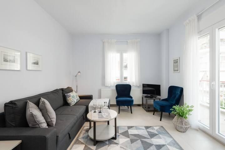 Kalamaria brand new 2 bedroom apartment