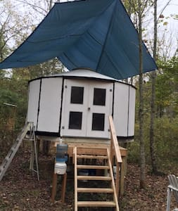 Live off-the-grid! Comfy Yurt on Private Mountain! - Marshall