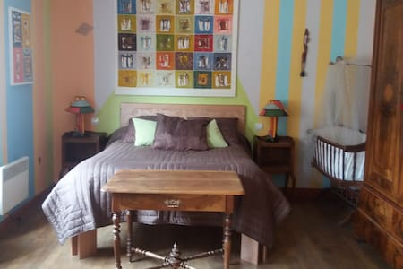 La Rembergeronerie - Chambre Family - Chaillac - Bed & Breakfast