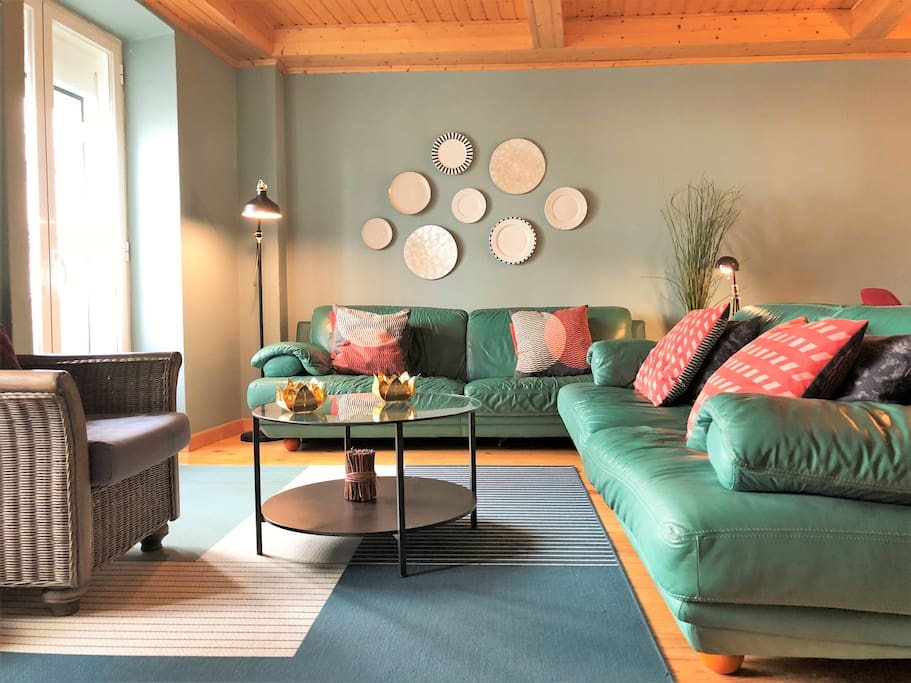 Enjoy the large and comfortable living room