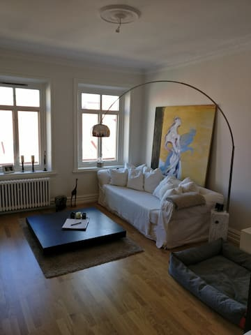 Luxury flat in central but quiet location (Linné)