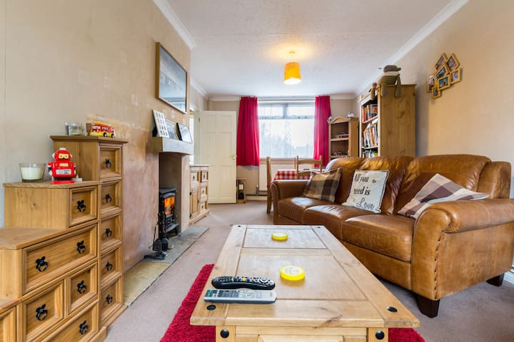 Cosy House With Log Burner