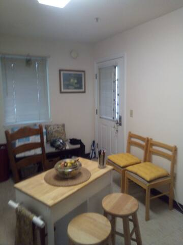 Attractive neat  apartment near UVM and Hospital.