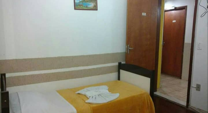 Suite individual Hospedaria Ipiranga