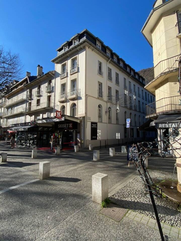 Bagnères de Luchon, Beau T3 meublé, plein centre
