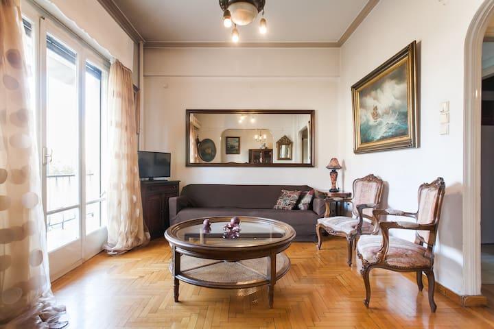Acropolis Museum Art Nouveau apartment