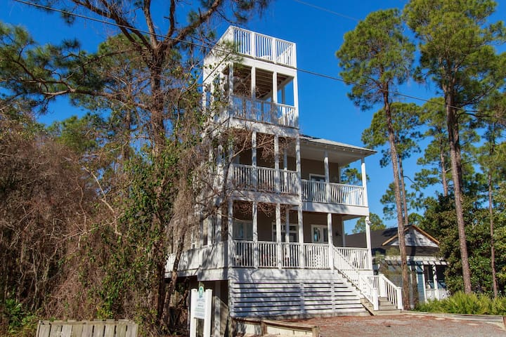 Blue Skies Bungalow - Seagrove Beach - House