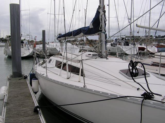 bateau au ponton - Arzon