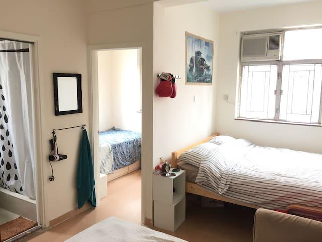 Yau Ma Tei whole cosy apartment w/Lift,5min to MTR - Hong Kong - Departamento