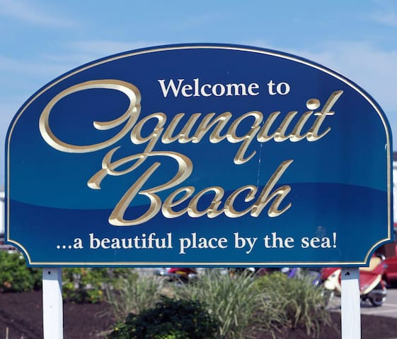 Ogunquit beach is a 15-minute walk from the condo, on-site parking available
