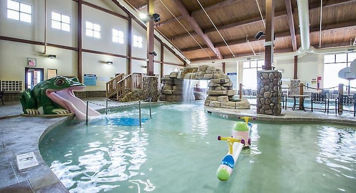 Resort cottage in Wisconsin Dells