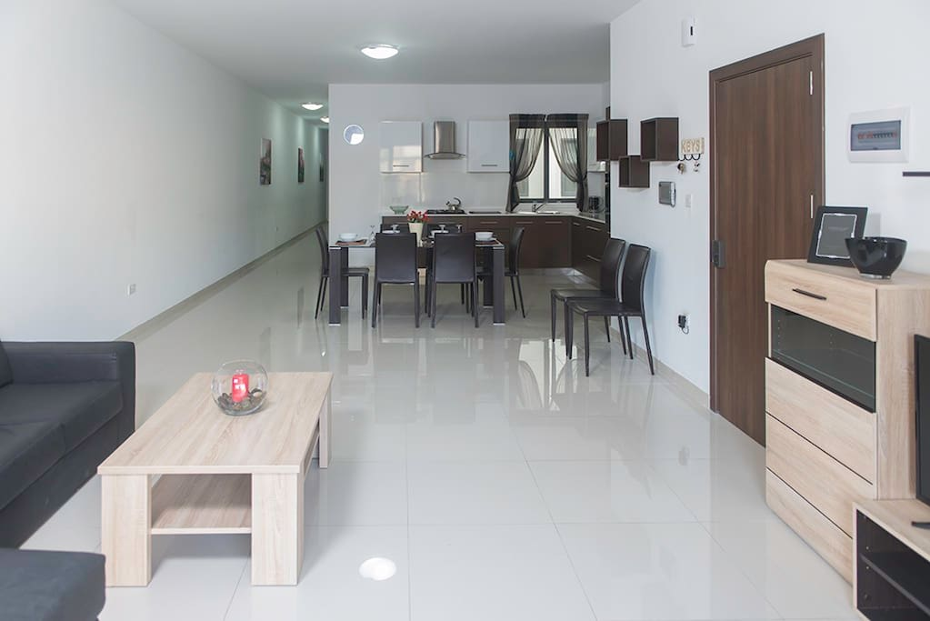Kitchen-Dining-Living area